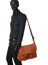 Messenger Bag Basilic pepper Black urban BURB05-vue-porte