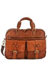 Briefcase Basilic pepper Brown urban BURB01