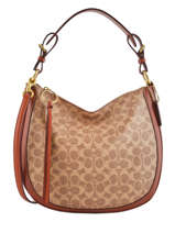 Shoulder Bag Sutton Leather Coach Brown sutton 38580