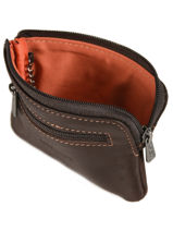Purse Leather Wylson Brown rio W8190-2-vue-porte
