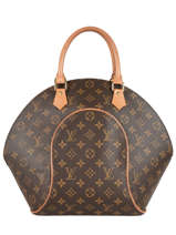 Preloved Louis Vuitton Handbag Ellipse Monogram Brand connection Brown louis vuitton 60