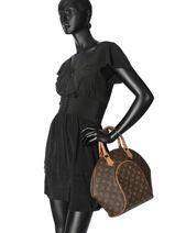 Preloved Louis Vuitton Handbag Ellipse Monogram Brand connection Brown louis vuitton 60-vue-porte
