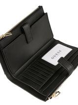Wallet Guess Black heidi VE717657-vue-porte