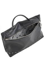 Longchamp Le pliage cuir rock Pochettes Noir-vue-porte