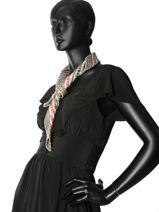 Longchamp Autres lignes Foulard Noir-vue-porte