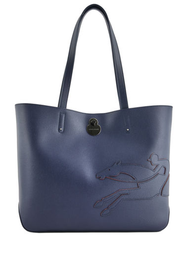 Longchamp Shop-it Besaces Bleu