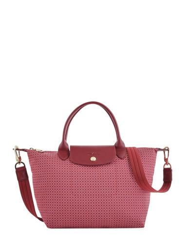 Longchamp Le pliage dandy Sacs porté main Rose