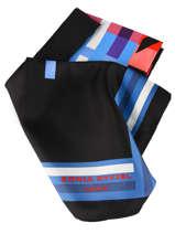 Silk Scarf Sonia Rykiel Sonia rykiel Black tartan 4711-59