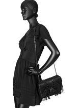 Longchamp Amazone rock Besaces Noir-vue-porte