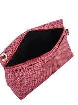 Longchamp Le pliage dandy Clutches Pink-vue-porte
