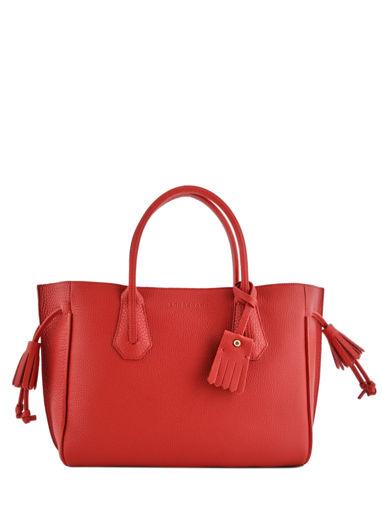 Longchamp Pénélope Sacs porté main Rouge