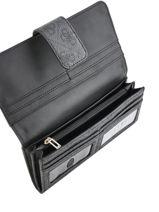 Portefeuille Guess Noir kathryn SG717459-vue-porte