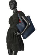Shoulder Bag A4 Tjw Modern Girl Tommy hilfiger Blue tjw modern girl AW06232-vue-porte