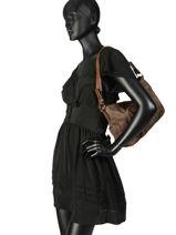 Shoulder Bag Miniprix Brown MD1611-vue-porte