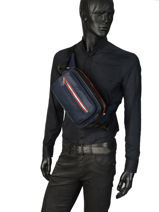 Fanny Pack Tommy hilfiger Blue urban novelty AM04343-vue-porte