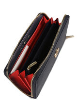 Wallet Tommy hilfiger Blue th core AW06168-vue-porte