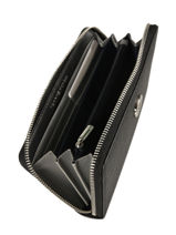 Wallet Tommy hilfiger Black th core AW06168-vue-porte