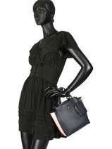 Sac Porté Main Effortless Saffiano Tommy hilfiger Noir effortless saffiano AW06117-vue-porte