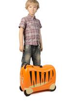 Valise Enfant Samsonite Orange dream rider CK8001-vue-porte
