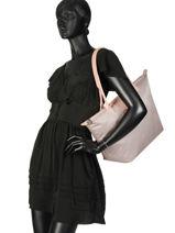 Longchamp Le pliage dandy Hobo bag Beige-vue-porte