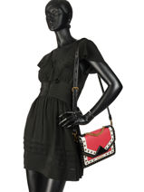 Shoulder Bag Klassik Special Leather Karl lagerfeld Red klassik special 91KW3042-vue-porte