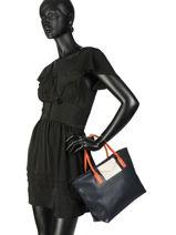 Shopping Bag Maya Lancaster Black maya 517-18-vue-porte