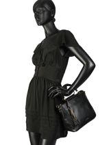 Collatina Handbag Liu jo Black collatina A19137-vue-porte