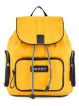 Varsity Nylon Backpack Tommy hilfiger Black varsity nylon AW06122