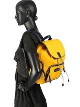 Varsity Nylon Backpack Tommy hilfiger Black varsity nylon AW06122-vue-porte
