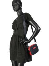 Varsity Nylon Crossbody Bag Tommy hilfiger Black varsity nylon AW06296-vue-porte