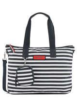 Shoulder Bag A4 Varsity Nylon Tommy hilfiger Beige varsity nylon AW06244