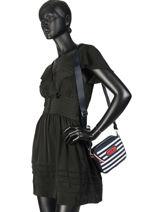 Crossbody Bag Varsity Nylon Tommy hilfiger Beige varsity nylon AW06295-vue-porte