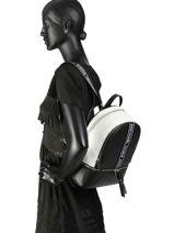Backpack Michael kors Black kors H8SEZB6T-vue-porte