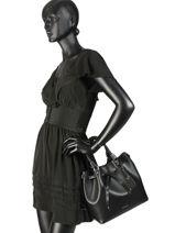 Top Handle Blakely Leather Michael kors Black blakely S8SZLM2L-vue-porte