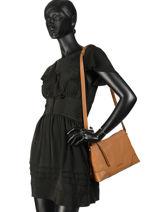 Shoulder Bag Crosby Leather Michael kors Brown crosby H8GCBM2L-vue-porte