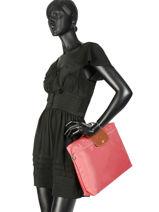 Longchamp Briefcase Pink-vue-porte