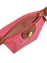 Longchamp Porte-monnaie Rose-vue-porte