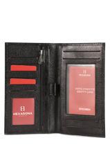 Porte-chéquier Cuir Hexagona Noir republique 331003-vue-porte