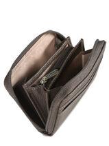 Purse Leather Hexagona Black confort 463042-vue-porte