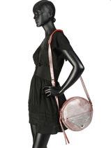 Crossbody Bag Vintage Leather Paul marius Red vintage ECRIN-vue-porte