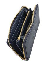 Wallet Leather Lauren ralph lauren Blue huntley 32707744-vue-porte