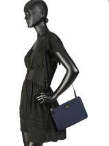 Nylon Crossbody Bag Chadwick Lauren ralph lauren Blue chadwick 31718195-vue-porte