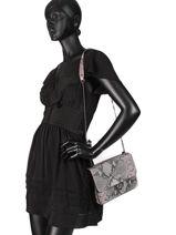 Shoulder Bag Python Milano Brown python PI180602-vue-porte