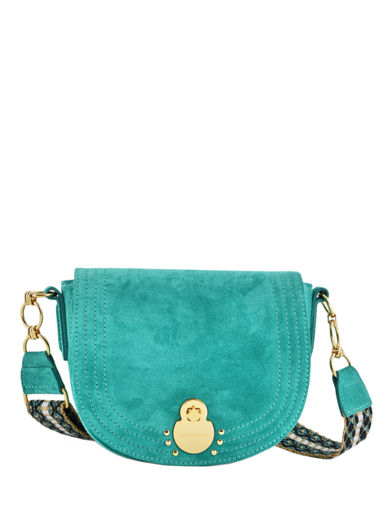 Longchamp Cavalcade wild Messenger bag Green