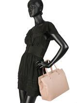 Longchamp Le foulonné Handbag Beige-vue-porte