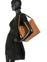 Hobo Bag Crosby Leather Michael kors Brown crosby H8GCBL3L-vue-porte