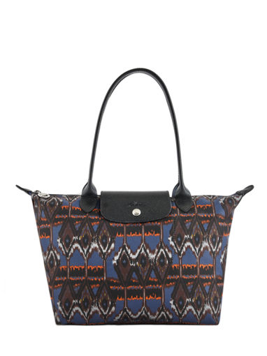Longchamp Le pliage ikat Hobo bag Blue