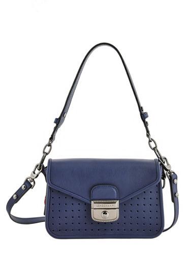 Longchamp Mademoiselle longchamp Messenger bag Blue