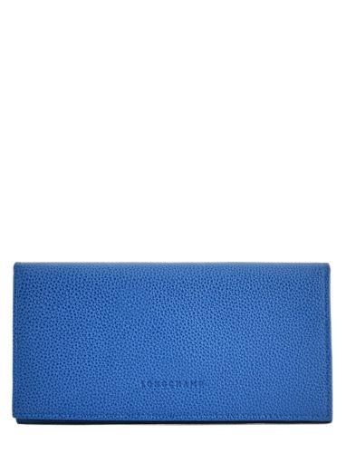 Longchamp Portefeuilles Bleu