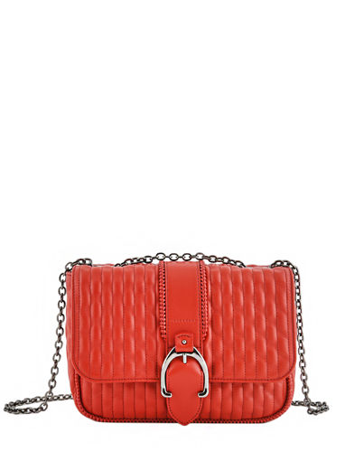 Longchamp Amazone matelassÉ Hobo bag Red